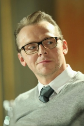 Pressconference Star Trek Into Darkness - Paramount Pictures - Grooming f. Simon Pegg