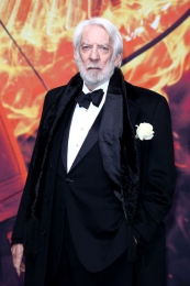 The Hunger Games - Mockingjay Part II - World Premiere Berlin - Studiocanal 11/2015 - Grooming for Donald Sutherland